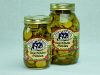 4 5 Bread & butter pickles 16 oz. 32oz.