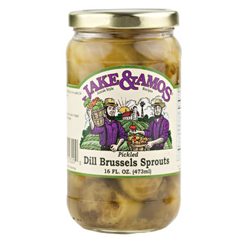 Brussels Sprouts (Dill & Pickled) 16 Fl.Oz.